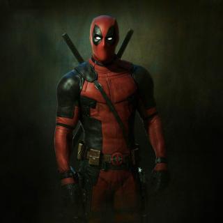 Deadpool Superhero - Obrázkek zdarma pro 1024x1024