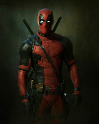 Free Deadpool Superhero Picture for Nokia N8