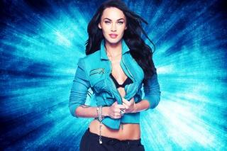Megan Fox Blue - Obrázkek zdarma pro Android 320x480