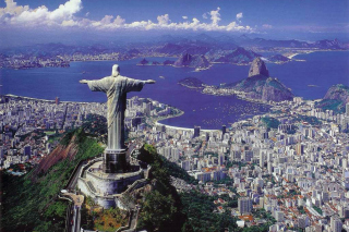 Rio De Janeiro Sightseeing Background for Android, iPhone and iPad