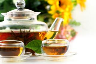 Flowering chinese Tea - Obrázkek zdarma pro 1366x768