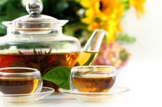 Flowering chinese Tea - Obrázkek zdarma pro Android 320x480