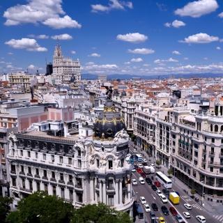 Madrid - Obrázkek zdarma pro 208x208