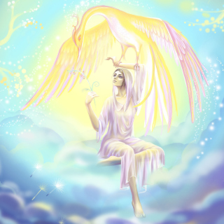 Phoenix Girls by joya filomena - Obrázkek zdarma pro iPad mini