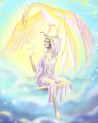 Phoenix Girls by joya filomena - Obrázkek zdarma pro iPhone 6