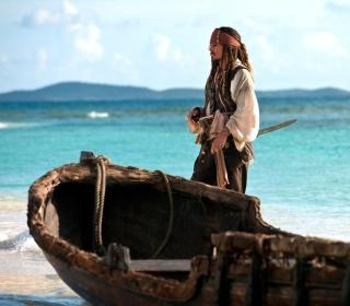 Captain Jack Sparrow - Obrázkek zdarma pro iPad 2