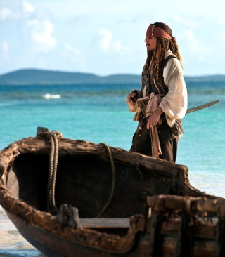 Captain Jack Sparrow - Obrázkek zdarma pro Nokia C1-02
