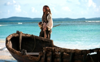 Captain Jack Sparrow - Obrázkek zdarma pro HTC Wildfire