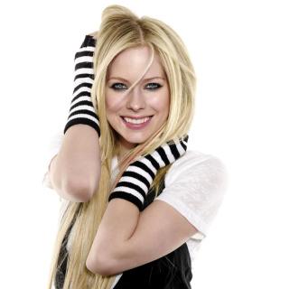 Avril Lavigne Poster - Obrázkek zdarma pro 128x128