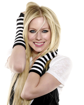 Avril Lavigne Poster - Obrázkek zdarma pro Nokia Asha 202