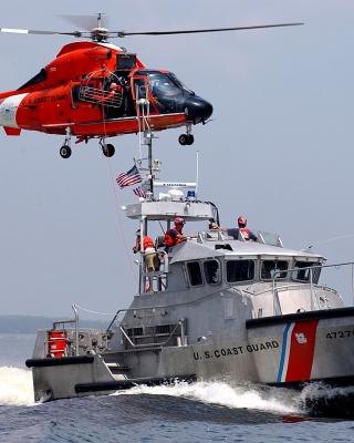 United States Coast Guard - Obrázkek zdarma pro Nokia X3-02