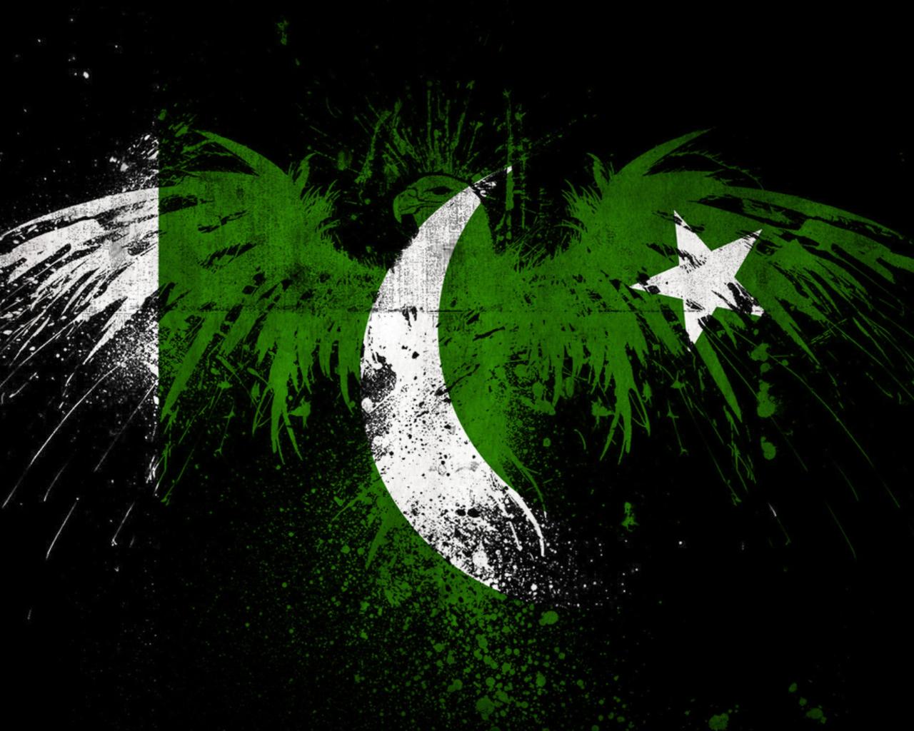Screenshot №1 pro téma Pakistan Flag 1280x1024