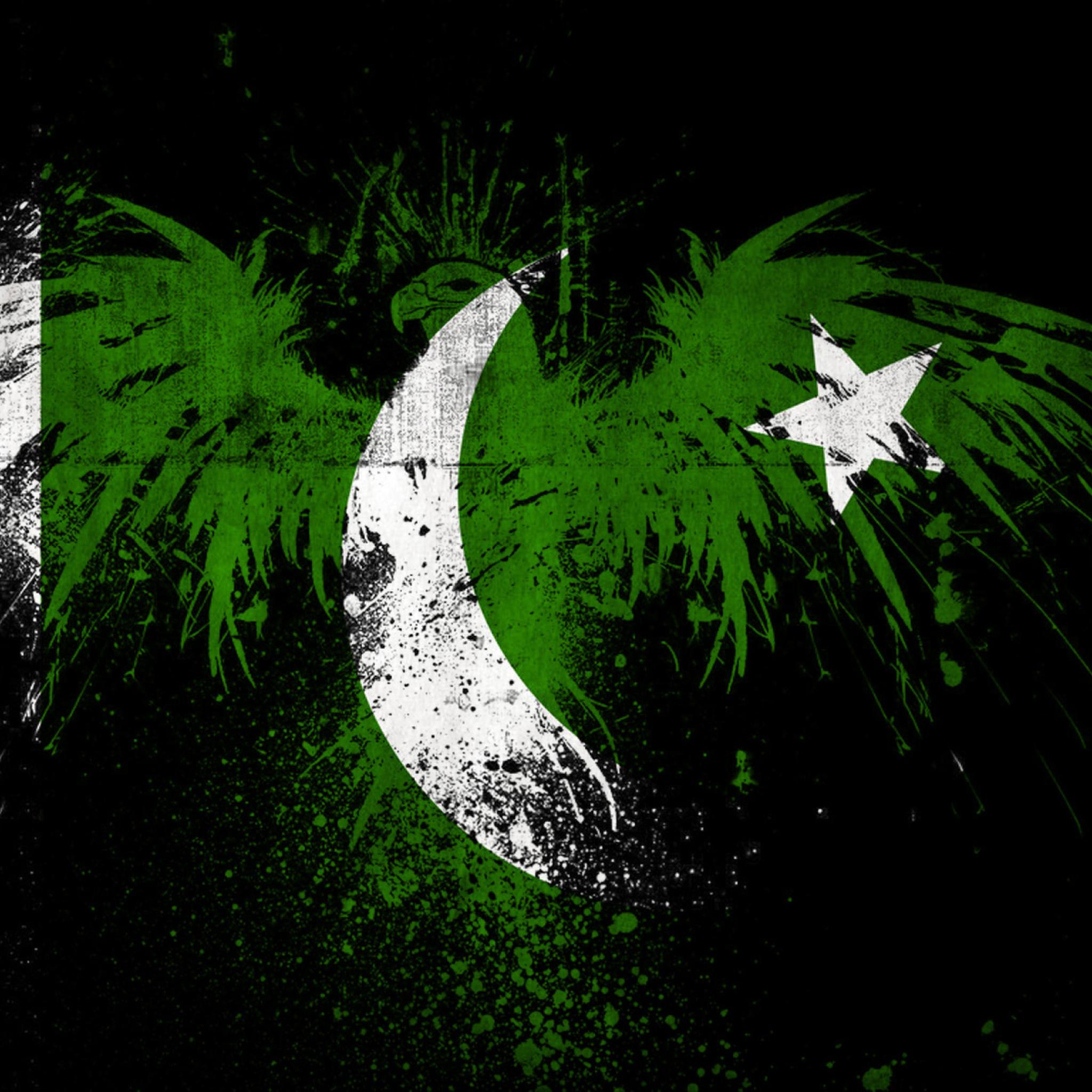 Screenshot №1 pro téma Pakistan Flag 2048x2048