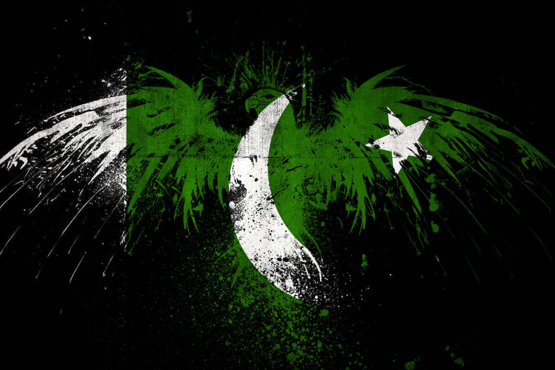 Screenshot №1 pro téma Pakistan Flag 2880x1920
