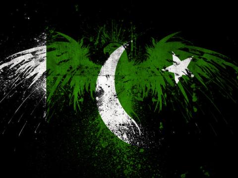 Screenshot №1 pro téma Pakistan Flag 480x360