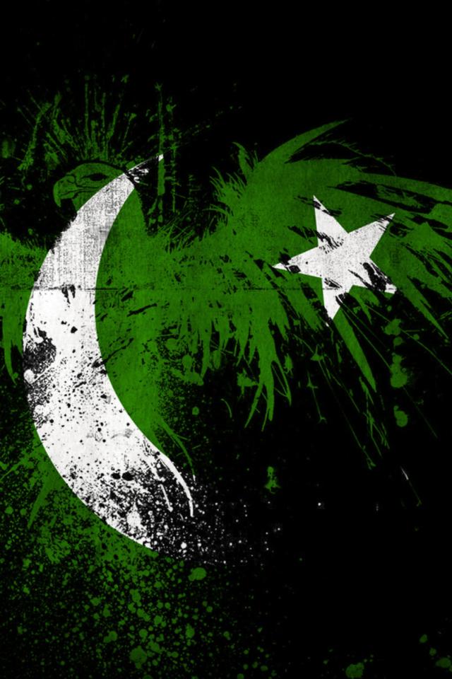 Screenshot №1 pro téma Pakistan Flag 640x960