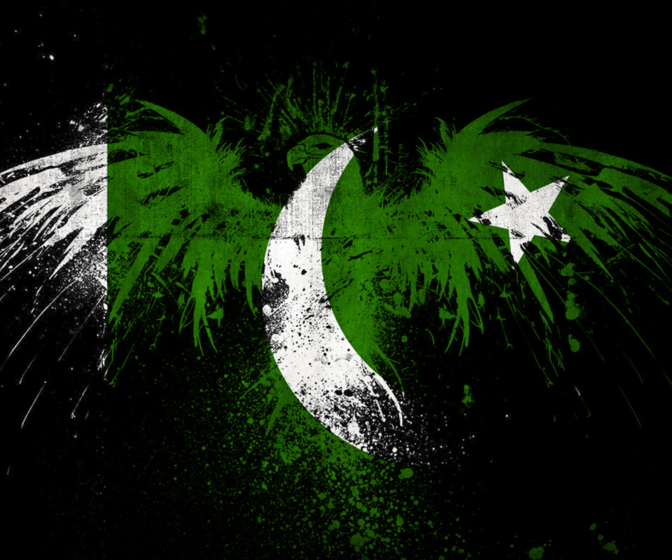 Screenshot №1 pro téma Pakistan Flag 960x800