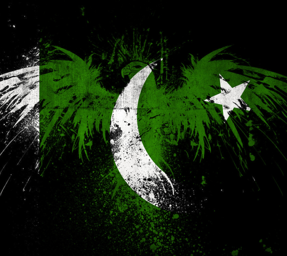 Screenshot №1 pro téma Pakistan Flag 960x854