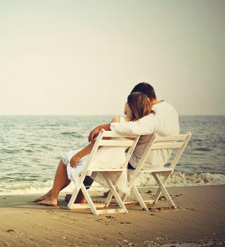 Romantic Beach - Obrázkek zdarma pro iPad 2