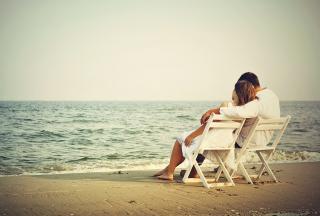 Romantic Beach - Obrázkek zdarma pro Nokia Asha 210