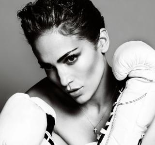 Jennifer Lopez Boxing - Obrázkek zdarma pro iPad Air