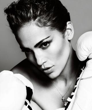 Jennifer Lopez Boxing - Obrázkek zdarma pro Nokia C1-02