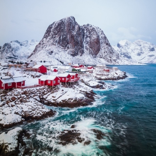 Lofoten Islands - Obrázkek zdarma pro iPad 2