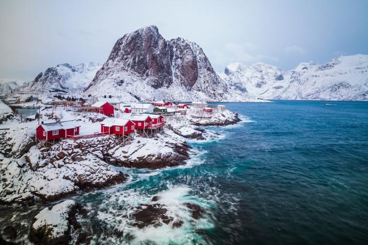 Sfondi Lofoten Islands