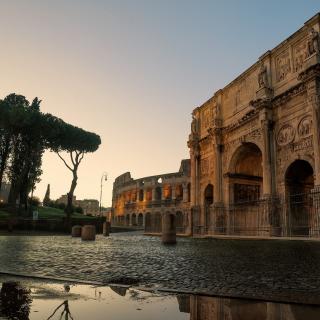 Colosseum ancient architecture - Obrázkek zdarma pro 208x208