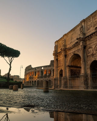 Colosseum ancient architecture - Obrázkek zdarma pro Nokia X1-00
