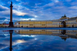 Saint Petersburg, Winter Palace, Alexander Column - Obrázkek zdarma pro 1920x1408