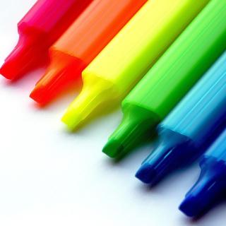 Colorful Pens - Obrázkek zdarma pro 320x320