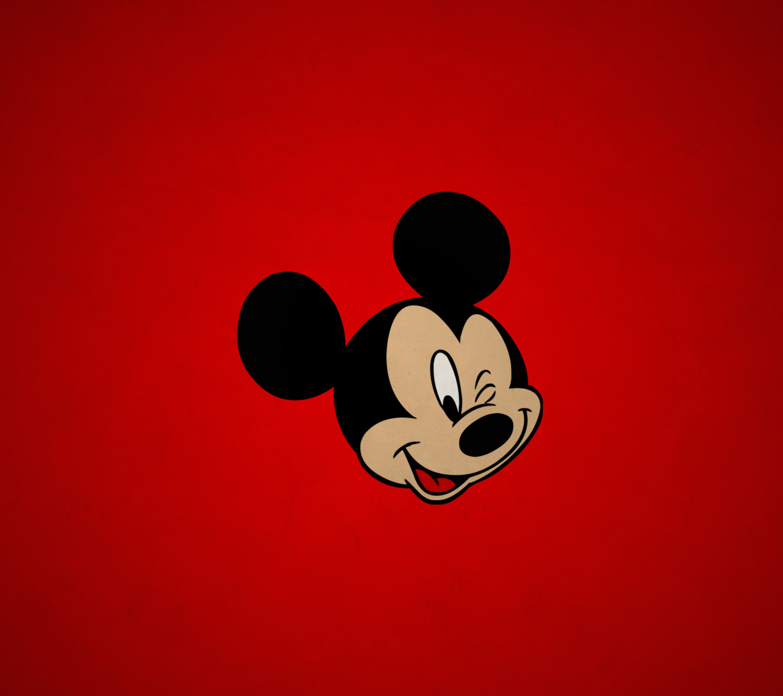 Mickey red fondos de pantalla gratis para android 1440x1280 for Wallpapers animados para android
