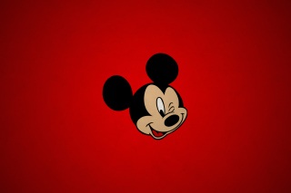 Обои Mickey Red на телефон