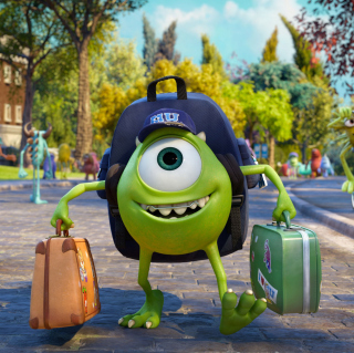 Monsters Uiversity Disney Pixar - Obrázkek zdarma pro iPad 3