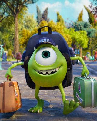 Monsters Uiversity Disney Pixar - Obrázkek zdarma pro Nokia X7