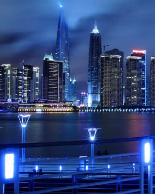 Shanghai Jin Mao Tower - Obrázkek zdarma pro Nokia Lumia 810