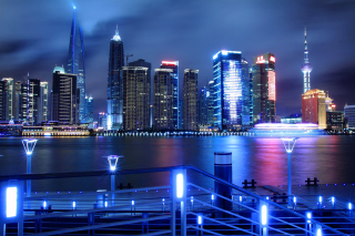 Shanghai Jin Mao Tower - Obrázkek zdarma pro Widescreen Desktop PC 1600x900