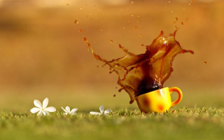 Coffee Background for Android, iPhone and iPad