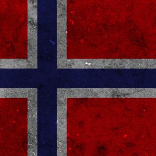 Norway Flag Scandinavian Cross - Obrázkek zdarma pro iPad 2