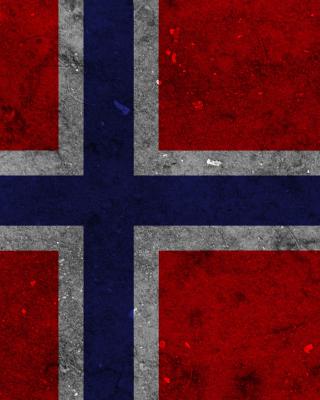Norway Flag Scandinavian Cross - Obrázkek zdarma pro 768x1280