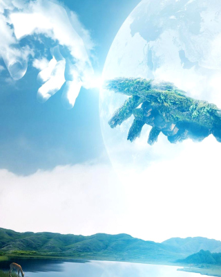 Heaven Art - Obrázkek zdarma pro 128x160