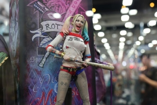 Margot Robbie in Suicide Squad film 2016 sfondi gratuiti per cellulari Android, iPhone, iPad e desktop