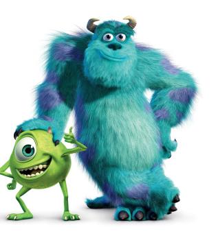 Monsters Inc - Obrázkek zdarma pro 132x176
