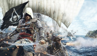 Assassins Creed 4 Black Flag Game - Obrázkek zdarma pro Widescreen Desktop PC 1280x800