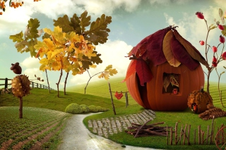 Thanksgiving - Obrázkek zdarma pro 320x240