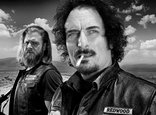 Opie and Tig in Sons of Anarchy Wallpaper for Android, iPhone and iPad