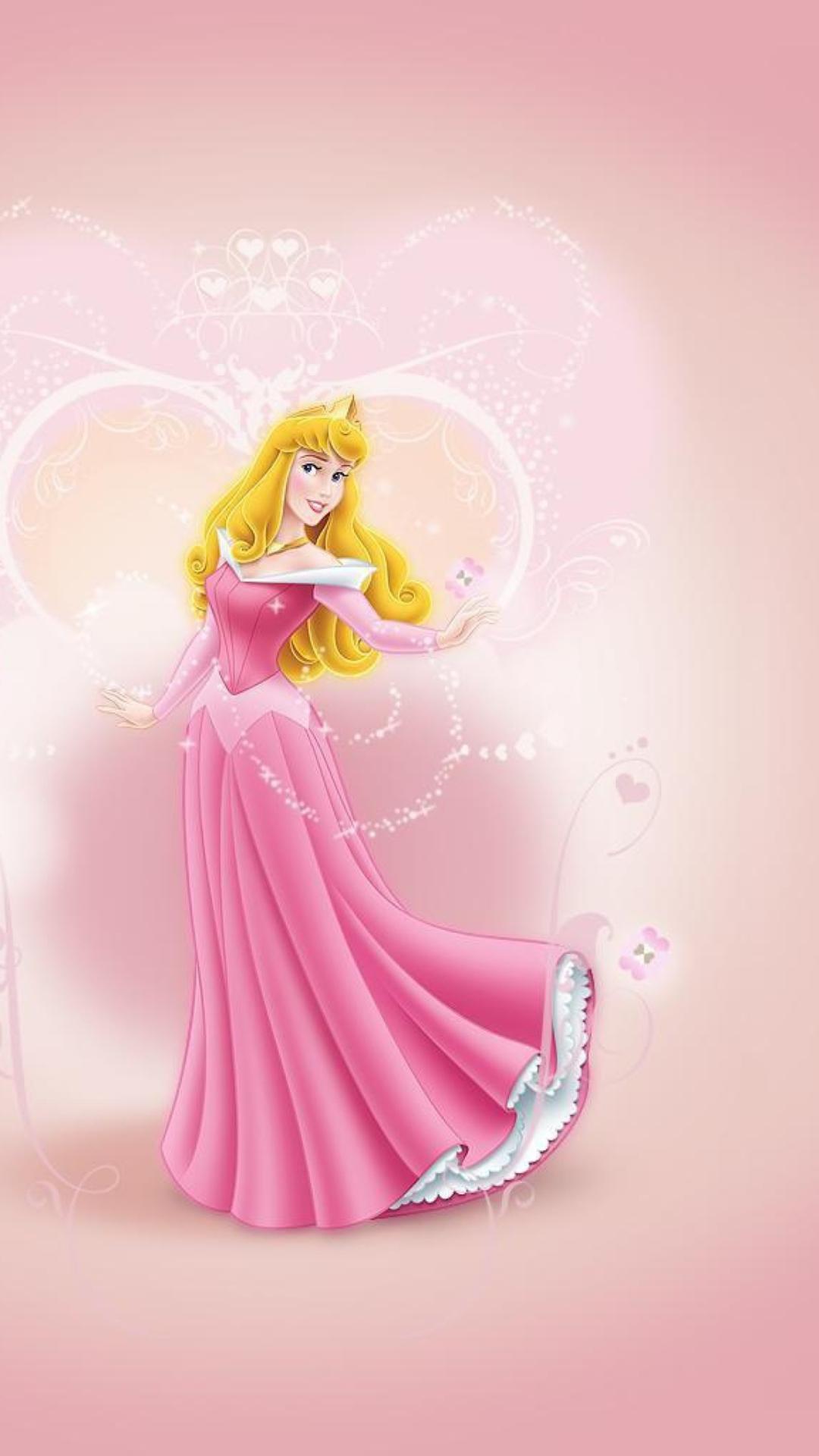 Princess Aurora Disney Wallpaper for iPhone 6 Plus