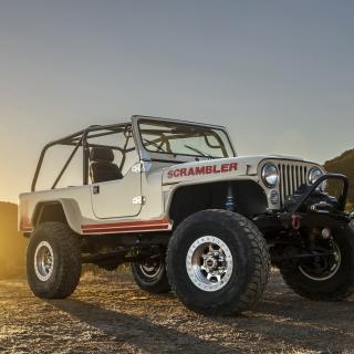Classic Jeep Cj8 Scrambler - Obrázkek zdarma pro 2048x2048