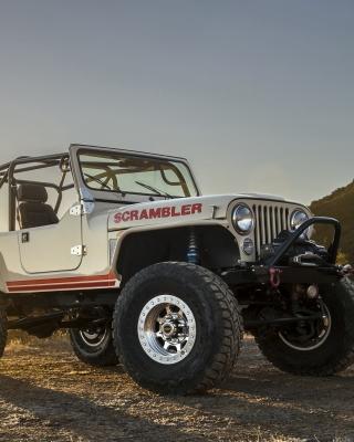 Classic Jeep Cj8 Scrambler - Obrázkek zdarma pro iPhone 5S